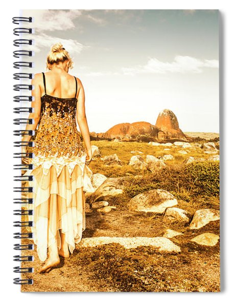 Fashioning A Granville Harbour Exploration Spiral Notebook