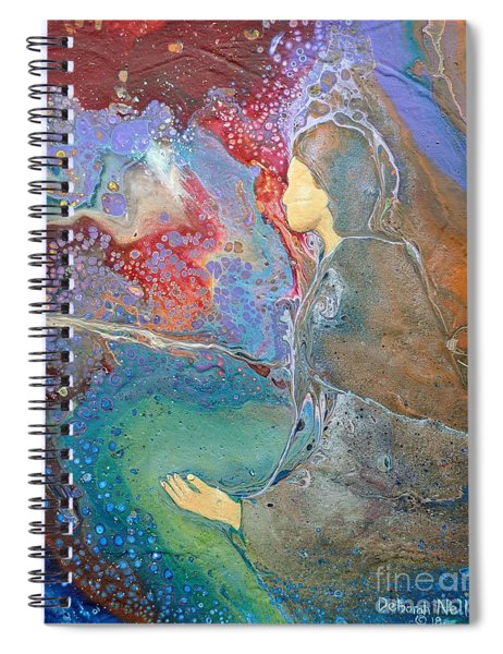 Father Of Lights Spiral Notebook