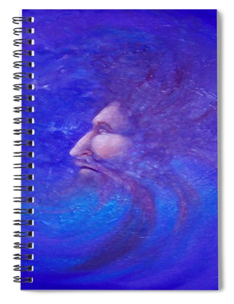 Father Time Spiral Notebook