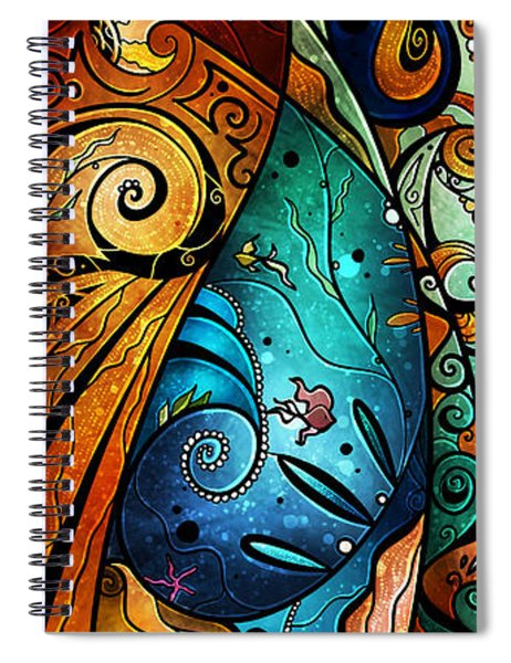 Fathoms Below Spiral Notebook