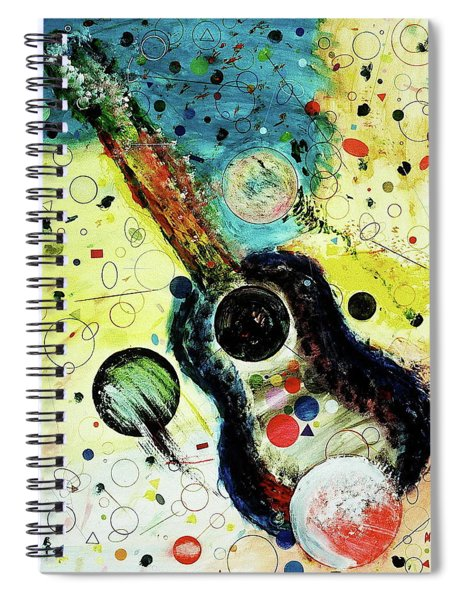 Spiral Notebook featuring the mixed media Favorites by Michael Lucarelli