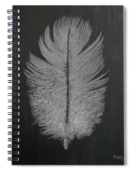 Feather 1 Spiral Notebook