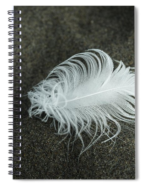 Feather Spiral Notebook