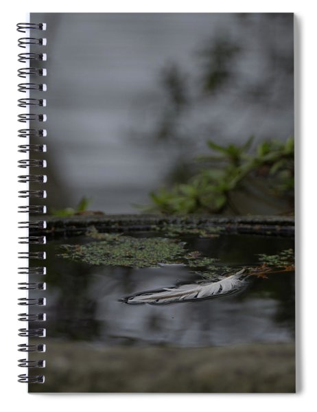 A Feeling Of Floating Weightlessly Spiral Notebook