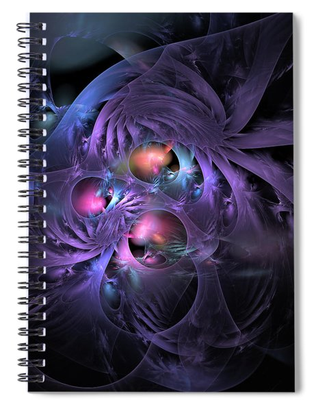 Feathered Cage Spiral Notebook