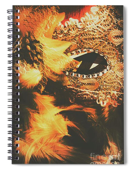 Feathers And Femininity  Spiral Notebook