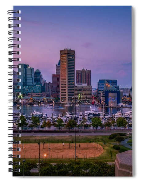 Federal Hill In Baltimore Maryland Spiral Notebook
