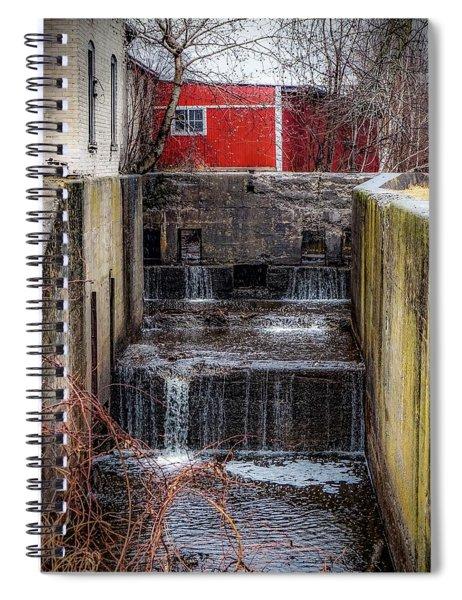 Feeder Canal Lock 13 Spiral Notebook