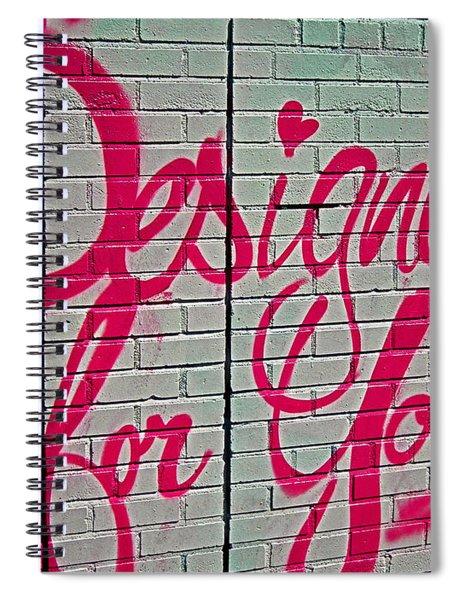 Feel ... Spiral Notebook
