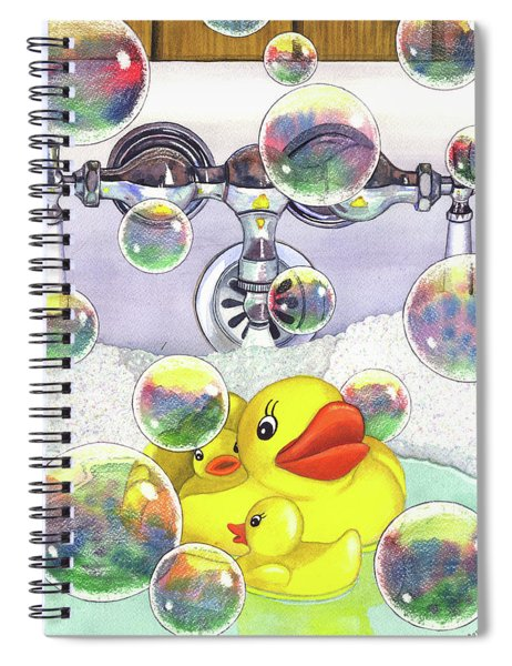 Feelin Ducky Spiral Notebook