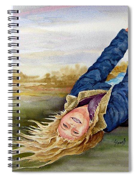 Feelin The Wind Spiral Notebook