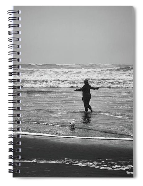 Feeling Her Joy Spiral Notebook