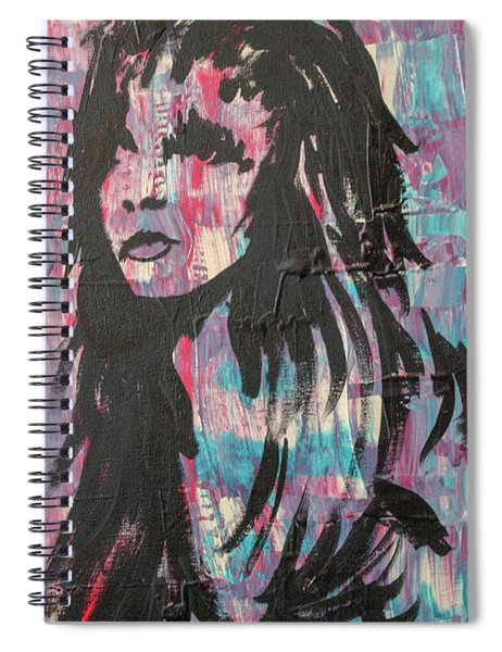 Feeling Remains Even After The Glitter Fades Spiral Notebook