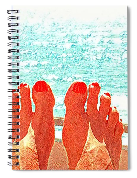 Feets Don't Fail Me Now Spiral Notebook