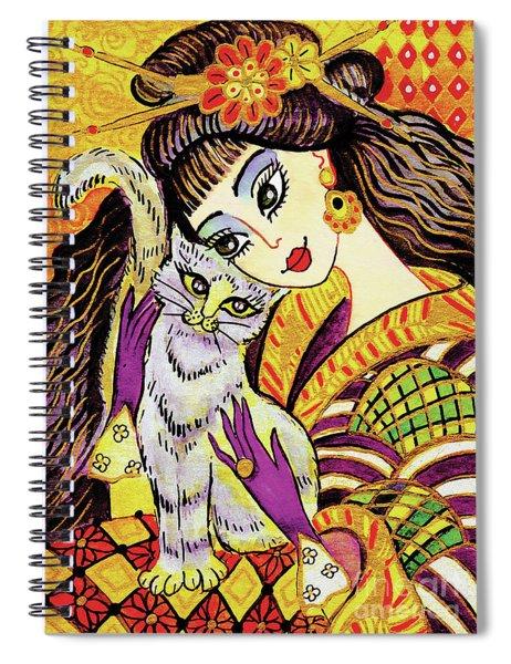 Feline Rhapsody Spiral Notebook