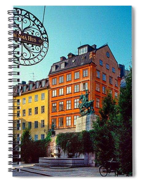 Fem Sma Hus Spiral Notebook