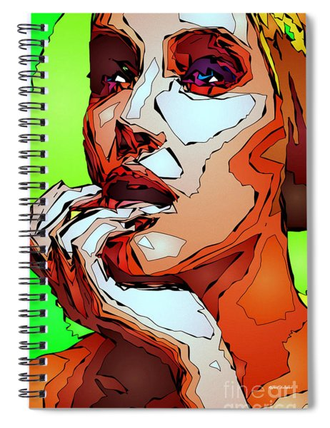Female Expressions Spiral Notebook
