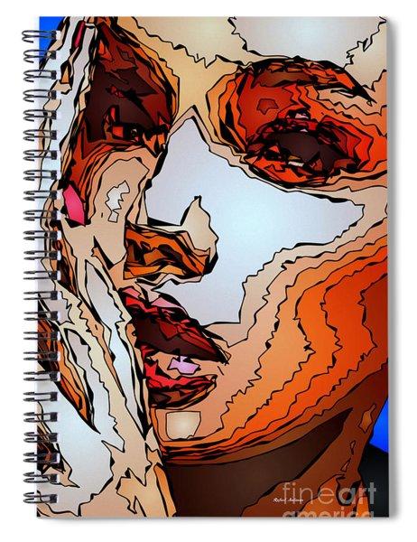 Female Expressions Viii Spiral Notebook