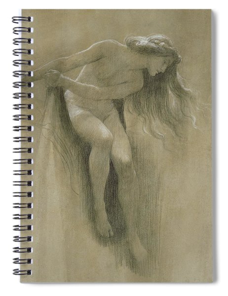 Female Nude Study  Spiral Notebook