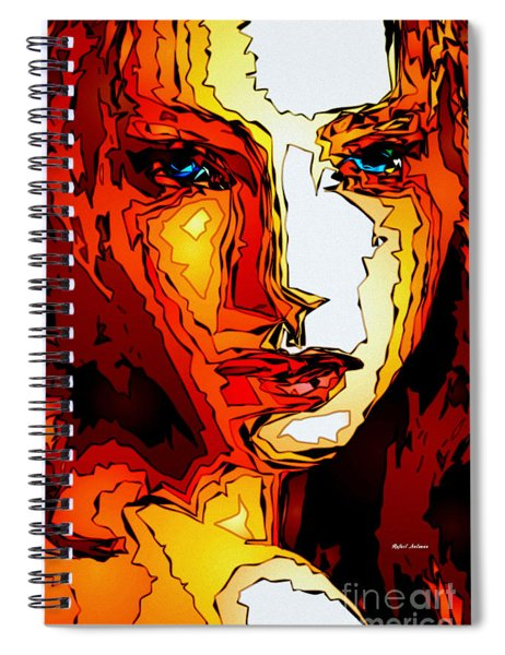Female Tribute II Spiral Notebook