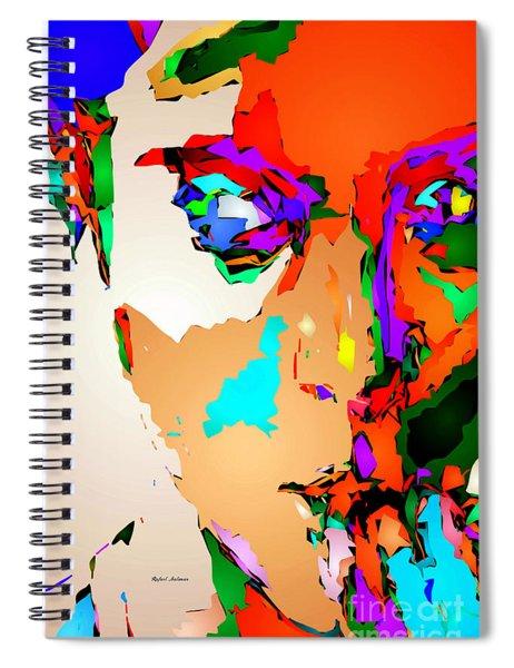 Female Tribute IIi Spiral Notebook