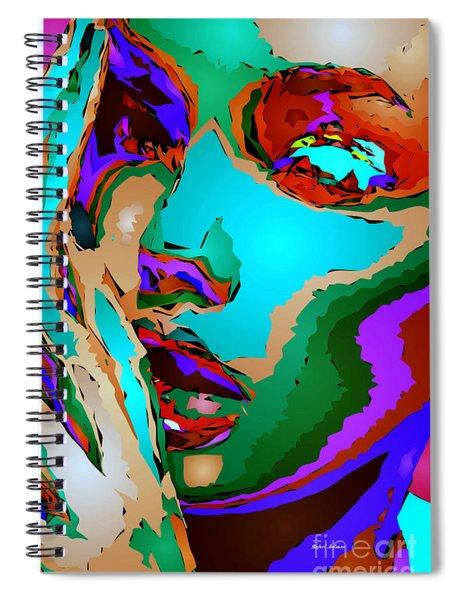Female Tribute V Spiral Notebook