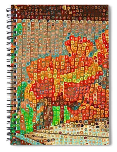 Fence Art Spiral Notebook
