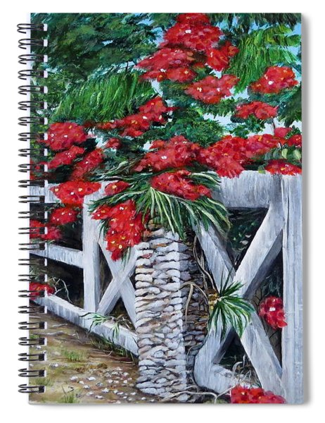 Fence Line Spiral Notebook