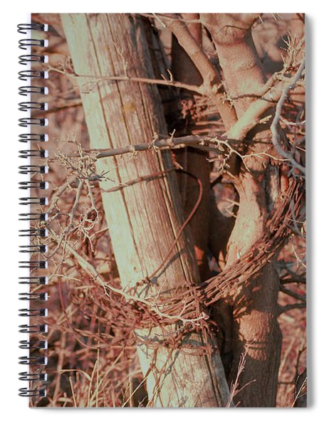 Fence Post Buddy Spiral Notebook