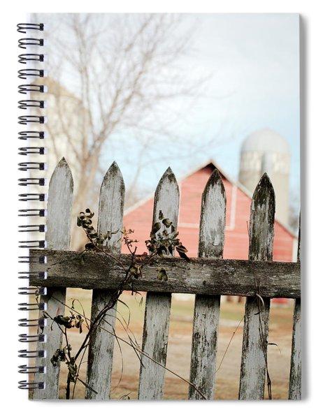 Fenceline Spiral Notebook