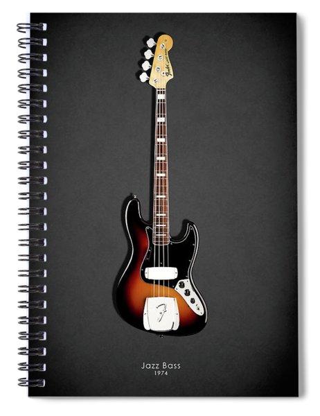Fender Jazzbass 74 Spiral Notebook