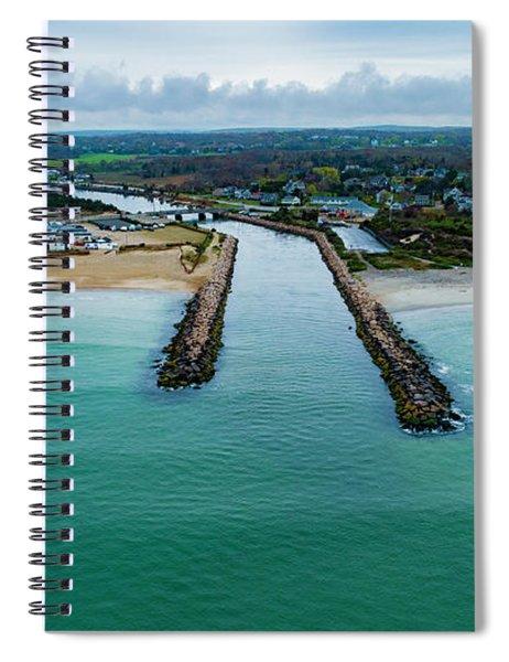 Fenway Beach Breakwater Spiral Notebook