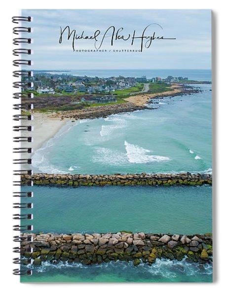 Fenway Beach, Weekapaug Spiral Notebook