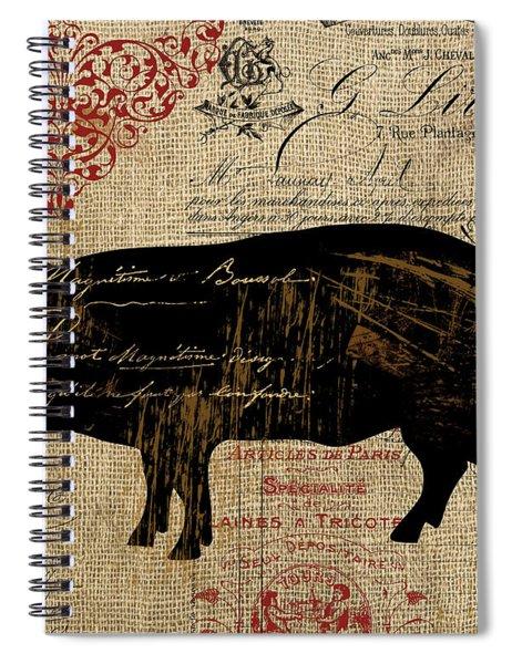 Ferme Farm Piglet Spiral Notebook