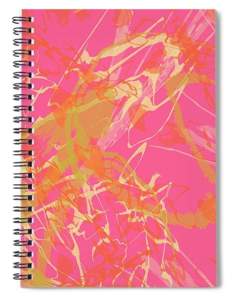 Fern Palette Painting #1 Spiral Notebook