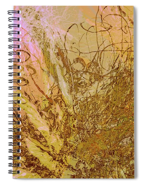 Fern Series 32 Bubbles Rise Spiral Notebook