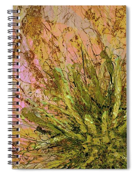 Fern Series 32 Fern Burst Spiral Notebook