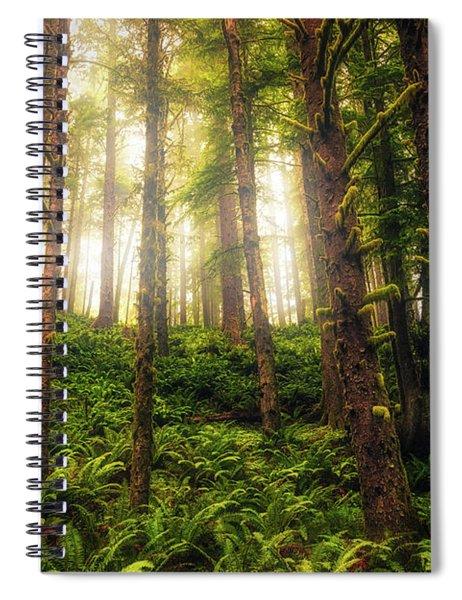 Ferngully Spiral Notebook