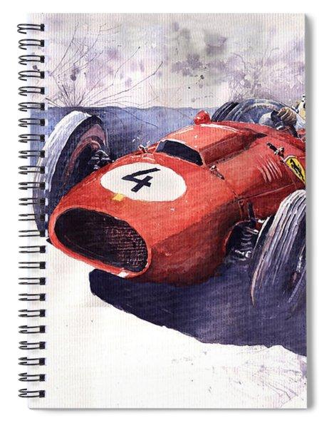 Ferrari 246 Mike Hawthorn Spiral Notebook