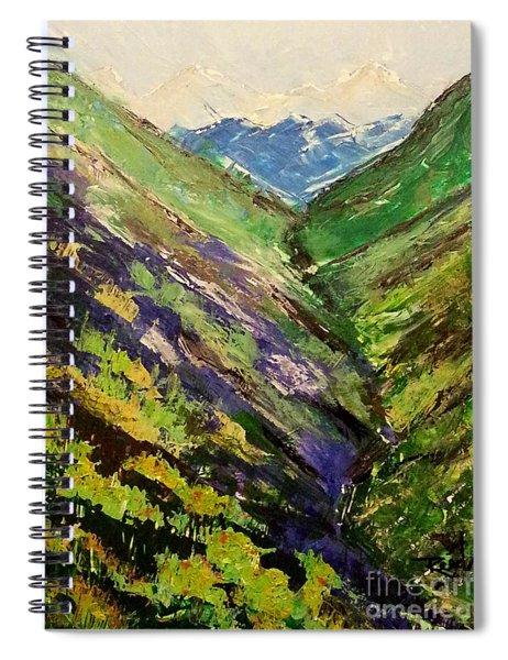 Fertile Valley Spiral Notebook