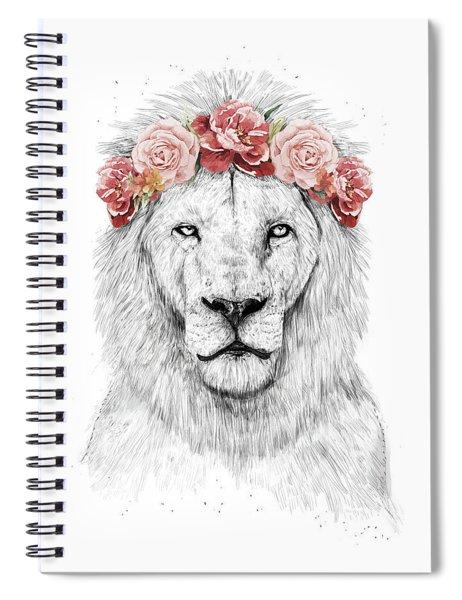 Festival Lion Spiral Notebook