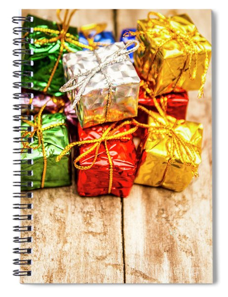 Festive Greeting Gifts Spiral Notebook