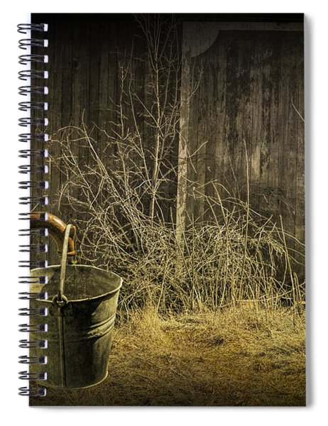 Fetching Water From The Old Pump Spiral Notebook