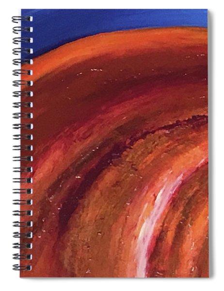 Fibonacci Spiral Notebook