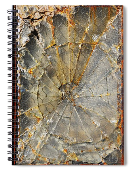 Spiral Notebook featuring the photograph Fibonaccis Muse by Skip Hunt