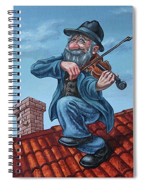 Fiddler On The Roof. Op.#2773 Spiral Notebook