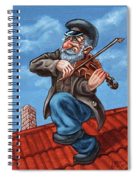 Fiddler On The Roof. Op.#2774.miniature Spiral Notebook