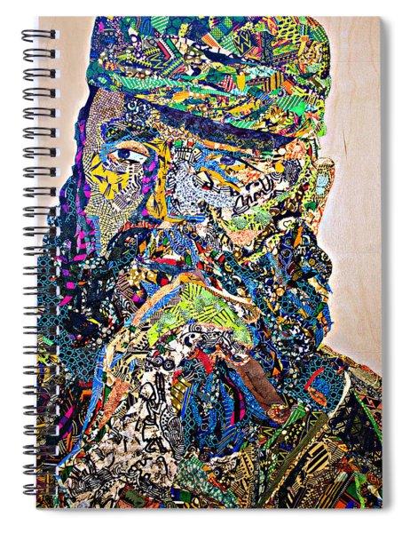 Fidel El Comandante Complejo Spiral Notebook