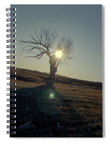 Field And Tree Spiral Notebook