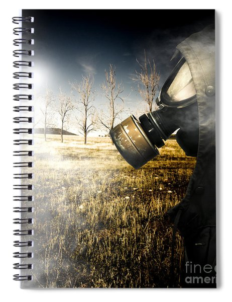 Field Of Terror Spiral Notebook